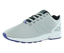 Adidas Zx Flux Men\'s Running Shoes Size US 10, Regular Width, Color Gray/Black