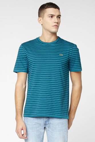 L!VE Short Sleeve Crew Neck Stripe T-Shirt
