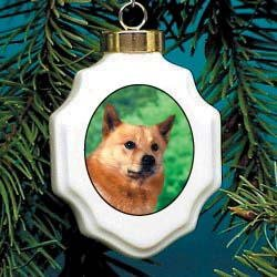 Christmas Ornament: Finnish Spitz