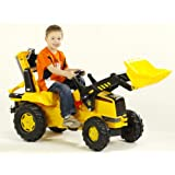 Rolly Toys CAT Front Loader and Backhoe