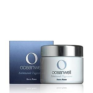Oceanwell Basic.Face - Schützende Tagescreme, 50 ml | Naturkosmetik aus hochkonzentriertem Algenextrakt und reinem Meerwasser