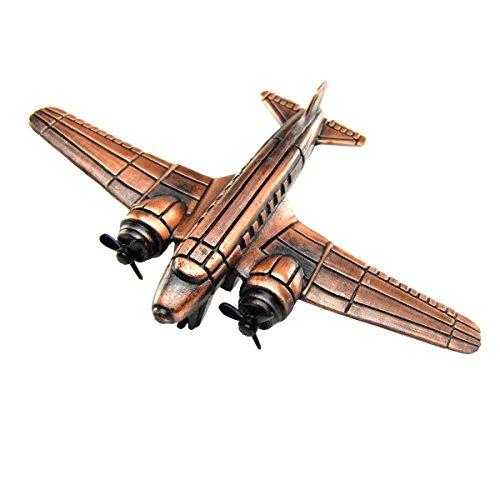 Douglas DC-3 Airplane Spitfire Plane Die Cast Toy Pencil Sharpener