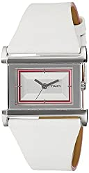 Timex Fashion Analog White Dial Womens Watch - OX03