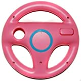 Element Digital(Tm) New Style Fashion Racing Games Steering Wheel For Nintendo Wii Mario Kart(Pink))