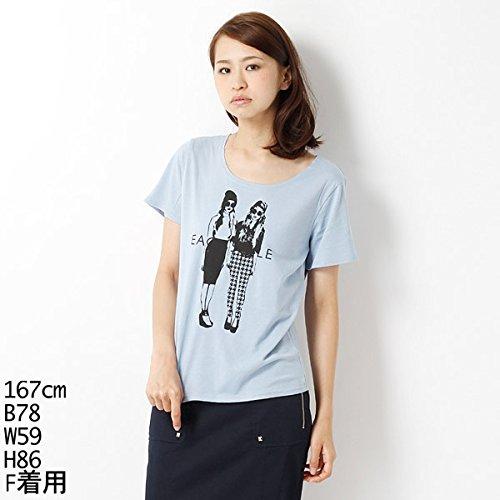 ムルーア(MURUA) Tシャツ(カジュアルガールT-SH)【M50ブルー/F】