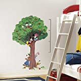 (27x40) Mickey & Friends Peel and Stick Metric Growth Chart Wall Decals