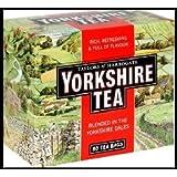Yorkshire Black Tea 80 Teabags