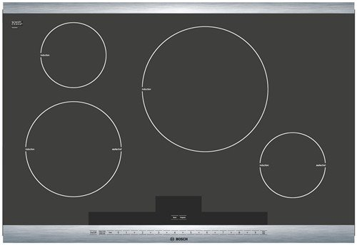 Bosch : NIT8065UC 30 800 Series Induction Cooktop &#8211; Stainless Steel