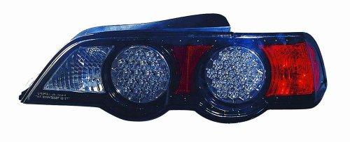 Depo M27-1901P-Us2 Acura Rs-X Black Led Tail Light