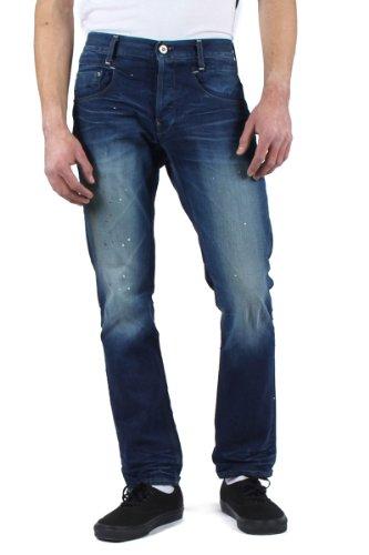 G-STAR RAW -  Jeans  - Attillata  - Uomo Bleu (Dark Aged 6083) 34 W/32 L