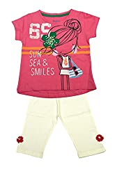 Pepito Infants Girls Top and Bottom set (6-12 Months)