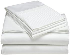 Reviews Pinzon Pleated Hem 400 Thread Count 100% Egyptian Cotton