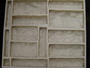 Amazon Com Concrete Mold Veneer Castle Stone Rubber Mold