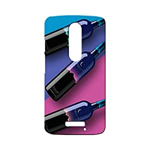 BLUEDIO Designer Printed Back case cover for Motorola Moto X3 (3rd Generation) - G0222