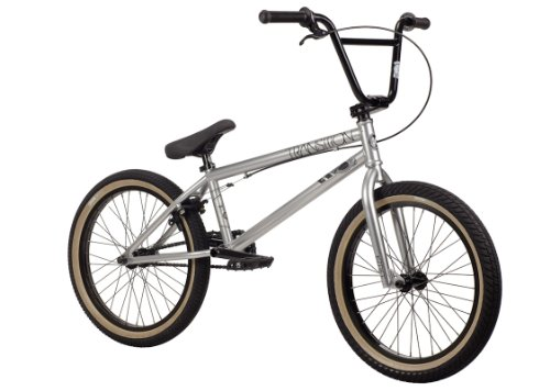 Kink 2014 Transition BMX Bike, Silver, Toptube: 20.75-Inch