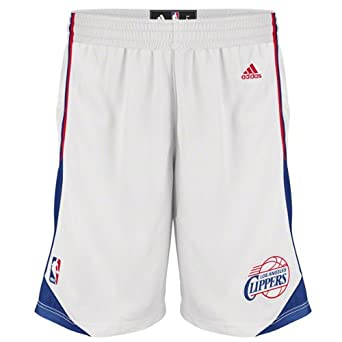 Los Angeles Clippers White Swingman Shorts By Adidas by adidas