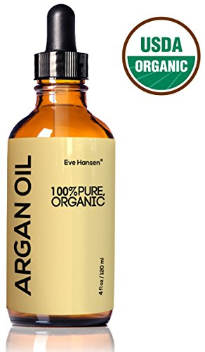 Organic ARGAN Oil |★ HUGE 4 OUNCE! ★| Naturally Rich in Anti-Aging VITAMIN E ★ 100% Pure (EcoCert, USDA) - with Nothing Added or Taken Away ★ For NATURAL Face Moisturizing, Hair Treatment, Skin & Nail Care ★ SEE RESULTS OR GET YOUR MONEY BACK!