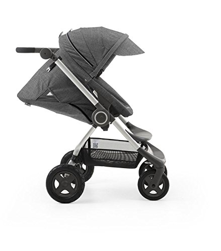 Find Discount Stokke Scoot Stroller - Black Melange