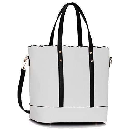 Ladies Large Shoulder Bags Womens Designer Handbags Faux Leather Celebrity Style New Tote