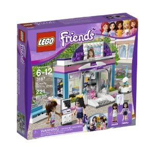 Toy / Game Lovely Lego Friends Butterfly Beauty Shop 3187 With Mini-Doll Figures And Beauty Salon Accessories front-976441