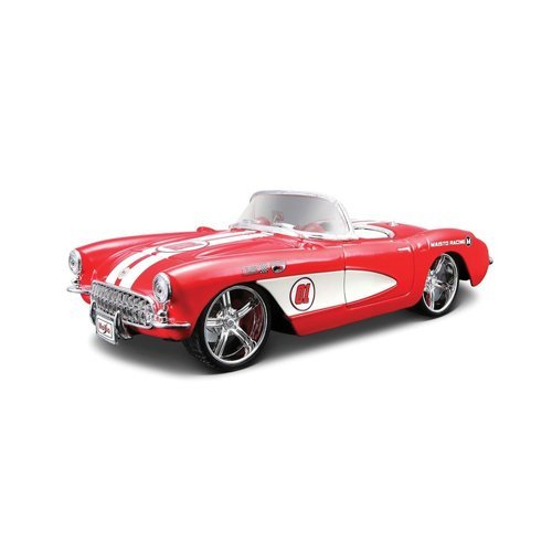 tobar-124-scale-1957-chevrolet-corvette-car