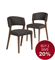 Alana Walnut Dining Chair
