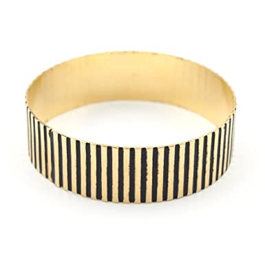 Black Stripes Bracelet by Sibilia||RF10F