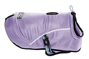 Hurtta Pet Collection Cooling Coat, 16-Inch Length, 16-1/4-Inch Neck, 18-30-Inch Chest, Lilac