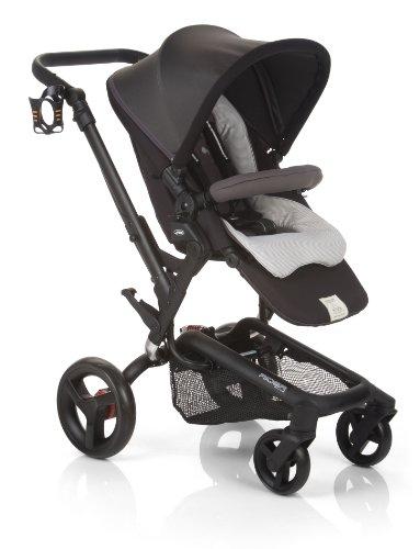 Jane Rider Anodized Aluminum Stroller - Shadow