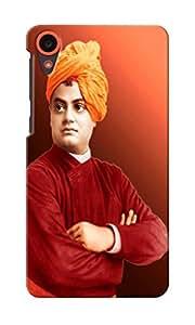 KnapCase Swami Vivekanand Designer 3D Printed Case Cover For HTC Desire 820