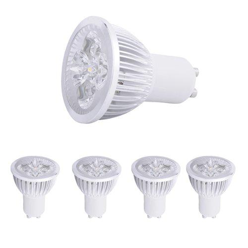 4 Pcs High Power 8W Gu10 Led Warm White Light Bulb Energy Saving Light