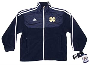 Notre Dame Fighting Irish Youth Small 8 Adidas Mid Weight Jacket Kids - New with Tags by adidas