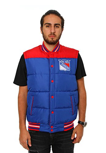 New York Rangers Reversible Puffer Vest (Medium) (Kids New York Rangers Sweatshirts compare prices)