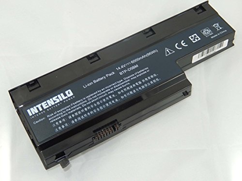 INTENSILO Li-Ion Akku 6000mAh (14.4V) für Notebook Laptop Medion Akoya MD98160, MD98190, MD98360, MD98410, MD98550 wie BTP-D5BM, 40029778, u.a..