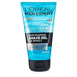 Loreal Men Experts Shave Revolution Non-Foaming Ice Effect Sensitive Shave Gel 150 ml With Free Ayur Sunscreen 50 ml