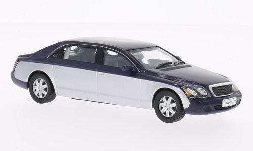 maybach-62-metallic-dunkelblau-silver-2009-model-car-ready-made-whitebox-143