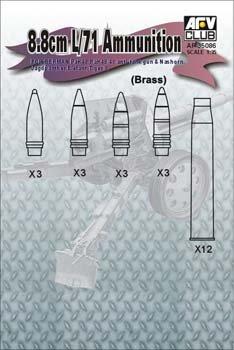 8.8cm L/71 Ammunition
