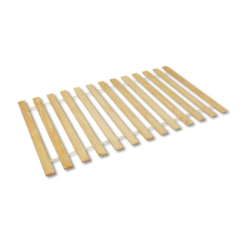 Twin Size Attached Bed Support Slats - No Box Spring Needed!