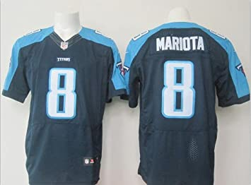 youth tennessee titans marcus mariota nike navy 2015 game jersey