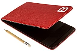 Fuzzy Bunkers Golf Scorecard Holder (Red)