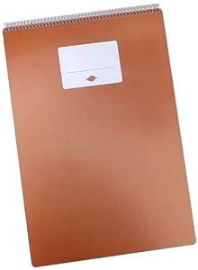 Mitz Rock Paper Sketch Pad 9.5X14 30 Sheets -Eco Alternative Creative space, multimedia 8pt. TerraSkin, Sea Salt Caramel