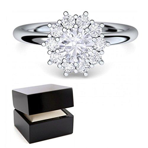 Verlobungsringe-mit-SWAROVSKI-Zirkonia-Stein-Silber-925-LUXUSETUI-Cocktailring-moderner-SWAROVSKI-Ring-Designerring-Einkarter-Antrag-Silberringe-Ring-wie-Diamant-Weigold-AM48SS925ZIFAZIFA58