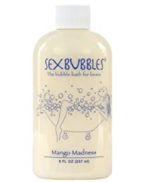 M.L.F. Enterprises Sex Bubbles , The Bubble Bath for Lovers, 8-Ounce, Mango Madness