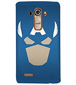 LG G4 SUPERHERO Back Cover by PRINTSWAG
