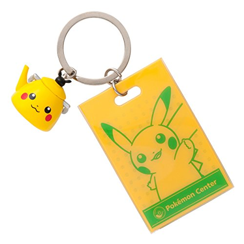 Pokemon Center Original Shopper with Keychain Kettle Pikachu
