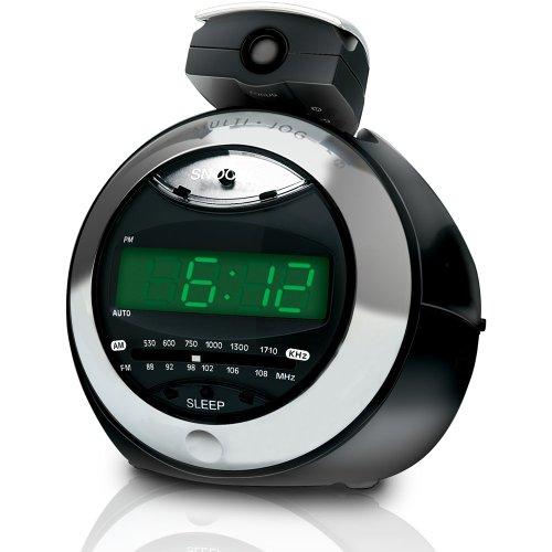 Coby CRA79 Digital Alarm Clock with Projector Display