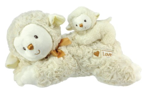 Kids Preferred Special Delivery Mama Baby Musical Plush Toy, Lamby front-960353