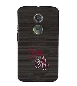 EPICCASE Love is in the air Mobile Back Case Cover For Moto X 2nd Gen (Designer Case)