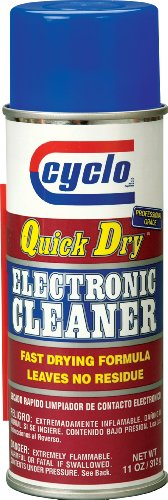 Cyclo C-87 Quick Dry Electronic Cleaner - 11 Oz., (Pack Of 12)