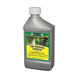 Voluntary Purchasing Group 10611 Fertilome Concentrate Fish Emulsion Fertilizer, 16-Ounce